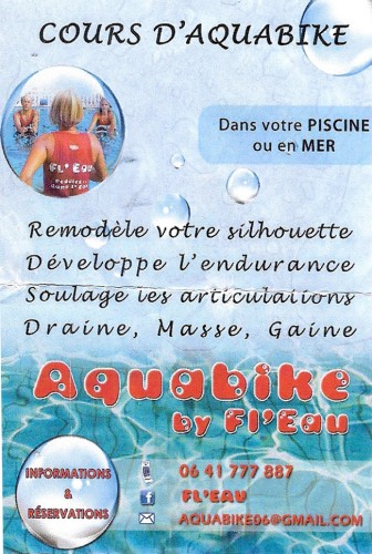 J 39 ai test pour vous l 39 aquabiking l 39 art de manger for Aquabike piscine paris
