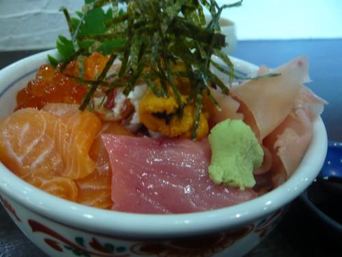 alimentation,cuisine japonaise,kura,paris,la muette,chirashi,poisson cru