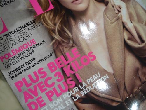 elle,magazines féminins,minceur,3 kilos en plus,prise de poids,prendre du poids l'hiver