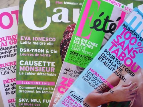 femmes,magazines féminins,minceur,régimes