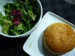 hamburger,viande,boeuf,gontran cherrier,cuisine,hiver,sandwich chaud