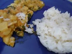 alimentation,cuisine du congélateur,sole,poisson,curry,le bonheur de cuisiner,mangue,surgelés