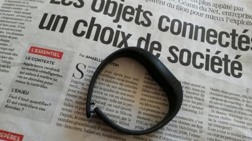 objets connectés, bracelet connecté, quantified self, paramètres santé