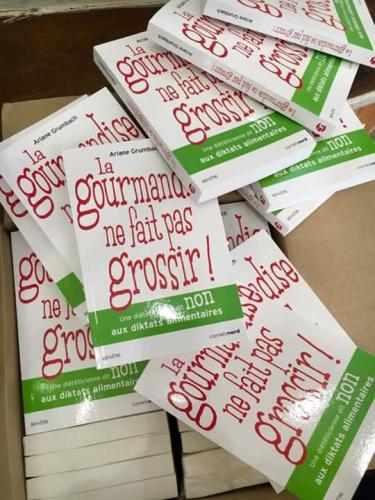 la gourmandise ne fait pas grossir,ariane grumbach,diététicienne anti-régime,diététicienne gourmande,paris 9,carnets nord,bien-être alimentaire
