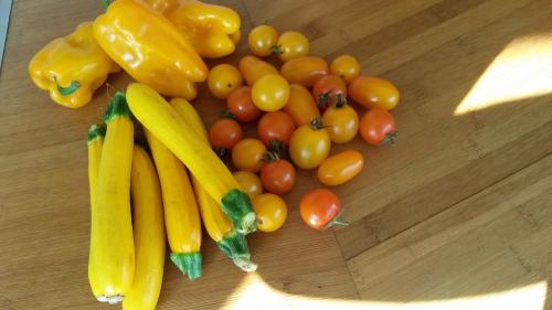 flexitarisme,flexitarienne,cuisiner végétarien,simple et végétarien,salades,cuisine d'été facile,festin de nature