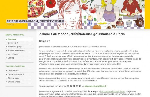 dieteticienne gourmande anti-regime,dietetcienne paris 9,notoriete internet,comportement alimentaire,maigrir sans régime,gros
