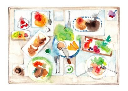 joyeux noel,bonnes fêtes, table de fête, excès à table