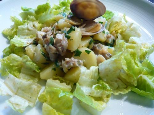 pommes de terre,patates,coquillages,salade,féculents,les pommes de terre en font pas grossir