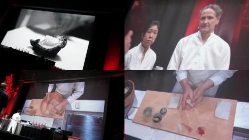 omnivore paris 2016,jeune cuisine,chefs,gastronomie,artisans d'exception, olivier helibert, florent ladeyn, xavier pensec, shinya inagaki