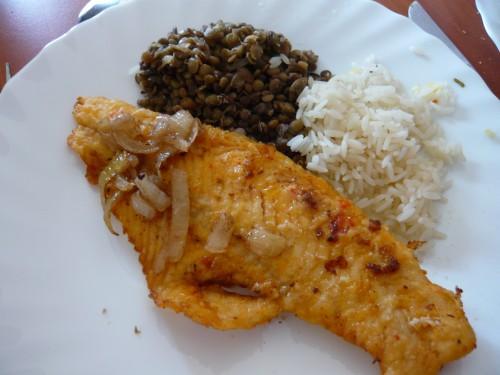 cuisine, réinsertion, ateleir de cuisine, alimentation et précarité, nutrition, poisson, antilles, salade de fruits