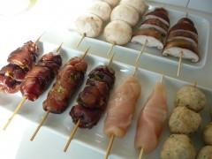 alimentation,cuisine,japon,poulet,yakitori,brochettes,yasube