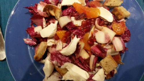 des salades en hiver,salade d'hiver,légumes de saison,varier les salades,improviser en cuisine,salade repas