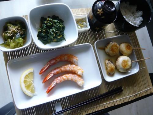 japon, vraie cuisine japonaise, crevettes, asie, voyage au japon