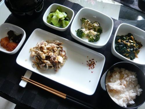 alimentation,cuisine japonaise,japon,maquereau,manger varié,plaisir de manger