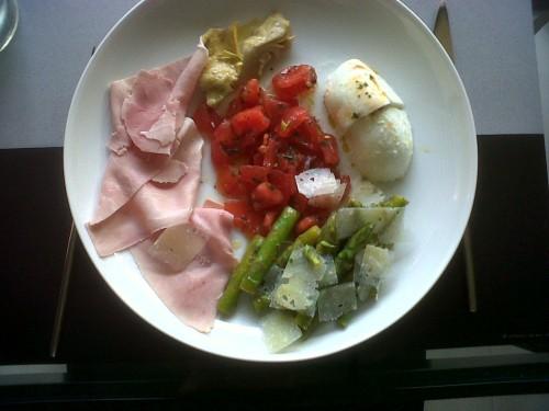 été,cuisine,vacances,salades,cuisiner simple et bon,pâtes,légumes,improviser en cuisine