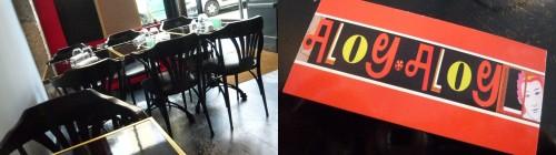 Aloy Aloy, restaurant, cuisine thaï, montmartre, paris 18, saumon, curry, nems, gastronomie