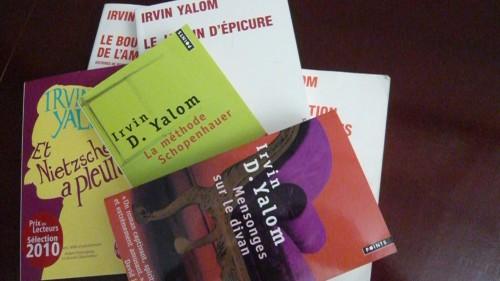irvin yalom,psychologie existentielle,roman,relation thérapeutique
