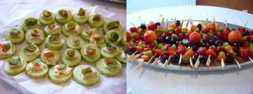 buffet,apéritif,cuisine,un homme au fourneau,réinsertion